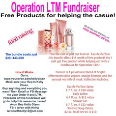 For the price of 1 get 3 free! Help a great organization while your at it! www.youravon.com/kellyolsen https://www.facebook.com/AvonwithKelly?ref=hl