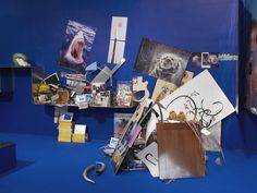Camille Henrot, Unwinding of the Elementsobjects found on ebay, digital frames2014dimensions variableuniqu