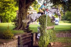 Izzy Taylor makes the Equi Trek Leap at Bramham International look easy! (C) Katie Neat Photography.