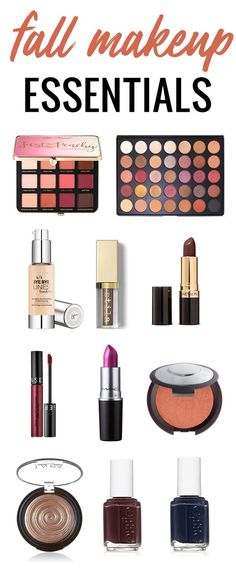 fall makeup essentials you NEED in your collection! Click through to see even more suggestions!