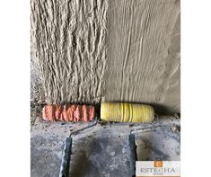 Textured Paint Rollers, Painting Textured Walls, Patterned Paint Rollers, Wall Texture Design, Wall Design, Metal Wall Decor, Diy Wall Decor, Concrete Stamp Mats, Cement Art
