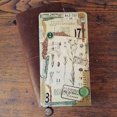 Making a TN craft folder! #travelersnotebook #travelerscompany #tninsert #tncraftfolder #craftfolder #paperaddict #paperlove #paperlover #paper #papier #papierliebe #papierliefde #papierfan #papierverslaafd #plannercommunity #vintage #vintagestyle #botanic #botanical #stamp #waxseal #vintagestamp