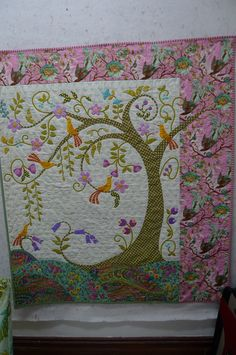 lovely tree quilt (from Material Obsession website)