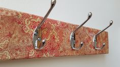Vintage Style Coat Rack - Decoupage / Decopatch by RathboneSass on Etsy