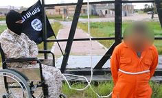 Handicapped ISIS Murderer BRUTALLY Crucifies Libyan Spy…UNREAL!!!