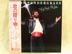 CD/Japan- TEDDY PENDERGRASS This One's For You w/OBI RARE MINI-LP harold melvin #FunkSoul