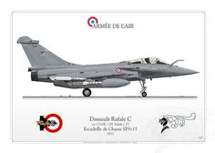 French Air Force Dassault Rafale C