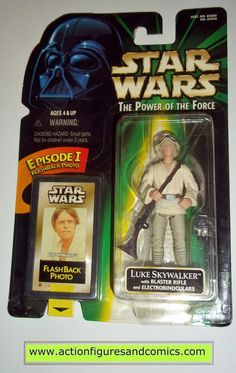Star Wars Stormtrooper Power of the Force collection Power of the Force 2 loose
