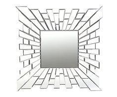 """Zrcadlo """"Hack"""", 100 x 2 x 100 cm"""
