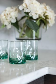 Stylish drinking glasses at Blog Cabin's breakfast bar >> http://www.diynetwork.com/blog-cabin/2015/kitchen-pictures-from-diy-network-blog-cabin-2015-pictures?soc=pinterestbc15