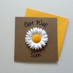 Paper Crafts For Kids, Hobbies And Crafts, Paper Crafting, Fun Crafts, Best Friend Birthday Cards, Birthday Cards For Friends, Housewarming Card, Sympathy Cards, Greeting Cards