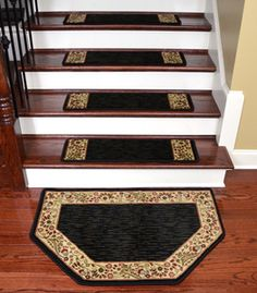 Best Stairway Makeover Reveal Boring Builder S Grade Carpeted 400 x 300