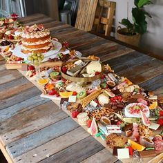 Image result for table long charcuterie board how to