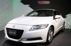 """This is a 2010 Honda-CRZ. This car was the first Honda with the """"future"""" layout. Competitive Quotes, Fuel Efficient Cars, Eco Friendly Cars, Compare Car Insurance, Honda Cr, Japanese Cars, Automobile, Wheels, Layout"""