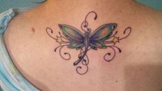 Best Ideas For Tree Branch Tattoo Tatoo Cover Up Tattoos, Foot Tattoos, Body Art Tattoos, Tattoo You, Back Tattoo, Tree Branch Tattoo, Tattoo Tree, Small Dragonfly Tattoo, Butterfly Tattoos