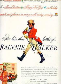 Johnnie Walker Blended Scotch Whisky C (1940)