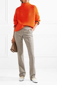 Stella McCartney | Jodi Prince of Wales checked wool straight-leg pants | NET-A-PORTER.COM