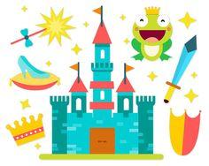 Fairytale Princess clipart Fairytale clipart Castle by ClipArtKiwi