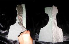 Lining a sleeveless top