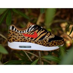 """For a third straight year, Nike is bringing back one of its most heralded collaborations with atmos in celebration of Air Max Day. This year's offering will be the two-piece """"Animal Pack 2.0"""" collection that sees the Air Max 1 and the Air Max 95 dressed up in animal prints. #Nike #AirMax1 #AirMax95 #AirMaxDay #Atmos #Sneakers #Swoosh"""