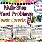 Engage your students with this BUNDLED set of *96* multi-step story problems that require students to complete multi-step processes with ALL operat...