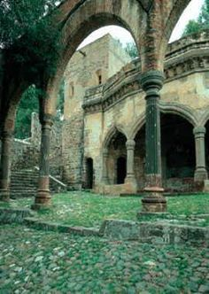 San Francisco Convent (viejo convento San Francisco), Tlaxcala, Mexico