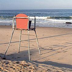 vintage lifeguard chair