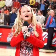 Long before there were teardrops on her guitar or any bad blood a 12-year-old Taylor Swift was singing the national anthem at a 76ers vs. Pistons game. #tbt [Credit: Jesse D. Garrabrant/Getty Images] by espn