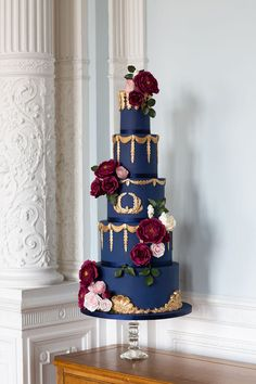 Stay out of the direct sunshine, heat and wedding cakes not a match made in heaven. Keep covered in case of flies. Fancy Wedding Cakes, Square Wedding Cakes, Luxury Wedding Cake, Floral Wedding Cakes, Wedding Cakes With Cupcakes, Wedding Cakes With Flowers, Colourful Wedding Cake, Flower Cakes, Floral Cake