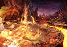 Eldin Volcano ~ hw official art