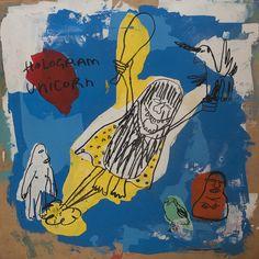 "Saatchi Online Artist: Sebastien Alouf; Acrylic, 2012, Painting ""Captain Caveman"""