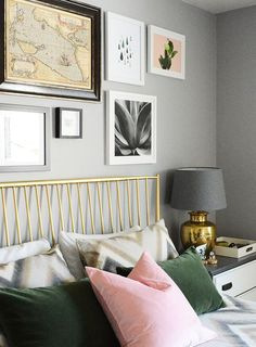 Emerald green and gray bedroom interior decorating green grey bedroom ideas inspirational fashion for the home . emerald green and gray bedroom Green Bedroom Design, Bedroom Green, Bedroom Decor, Bedroom Ideas, Shabby Bedroom, Emerald Bedroom, Sage Bedroom, Bedroom Furniture, Gold Grey Bedroom