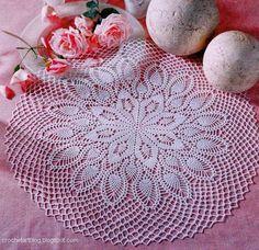 crochet Lace Doily Pattern free 8 | CROCHET