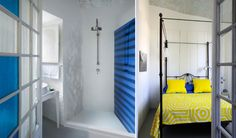 Capri suite: un boutique hotel a Capri - foto delle sale da bagno - doccia rivestita in muratura