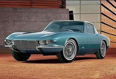 Corvette designed by Pininfarina