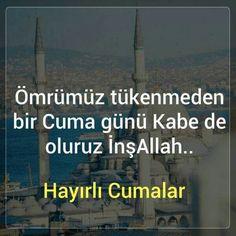 Amin #inşaallah #dua #hayırlicumalar
