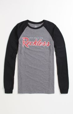 Young & Reckless OG Raglan Logo Tee