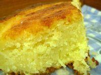 Receita de bolo fofinho de mandioca com coco