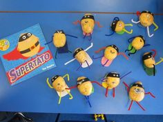 Image result for supertato activities Eyfs Classroom, Superhero Classroom, Classroom Themes, Eyfs Activities, Activities For Kids, Back To School Activities Ks1, People Who Help Us, Reception Class, Holiday Club