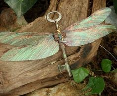Dragonflies symbolise prosperity through Inner Gnosis ie Inner Knowing / Wisdom hence kinda cool. Make one for altar & miniature one for fairy & gnome garden...