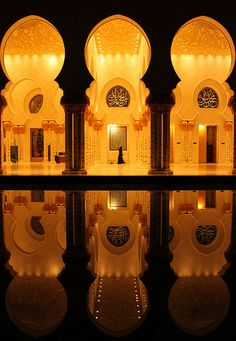 Sheikh Zayed Mosque: Abu Dhabi!