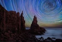 Star Trails by photographer Lincoln Harrison