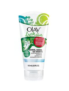 Best of Beauty: How to get rid of oily skin for good—The kaolin clay in creamy Olay Fresh Effects Shine Minimizing Cleanser, $6.99, absorbs oil on the surface of skin, then rinses away with absolutely zero residue