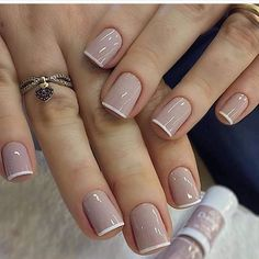 Diy Discover Perfect nails By Tag Besties Comment bellow . Classy Nails, Trendy Nails, Stylish Nails, Vip Nails, Nagellack Design, Pretty Nail Art, Neutral Nails, Minimalist Nails, Best Acrylic Nails