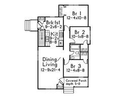 Oaktrail Quaint Cottage Home Plan 045D-0014 | House Plans and More