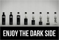 Blk Beverages - Black Spring Water! Fulvic trace minerals are added to pure water, creating a dark, drink full of powerful electrolytes and a high pH. A delicious beverage without any sugar, carbs or calories.