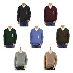 Great for Polo Ralph Lauren Pima Cotton Pullover V-Neck Knit Sweater - 10 colors - polo sweater from top store Polo Sweater, Cable Sweater, Pullover Sweaters, Ralph Lauren Pullover, Polo Ralph Lauren, Collared Sweatshirt, Crew Sweatshirts, Black Sweaters, Store