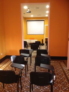 Aula del Centro de Administración Educativa en Málaga