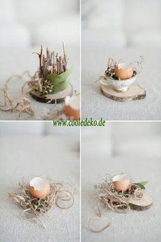 Osterdeko und Dekoartikel osterhasen eierschalen blickfang