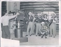 1953 Hillbilly Band Performs on WDAK TV 1950s Columbus Georgia Press Photo | eBay